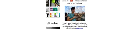 Sidebar Widget Com o Editor de Pós