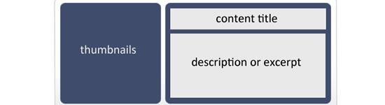 Personalizado deslizante conteúdo WordPress com vários recursos