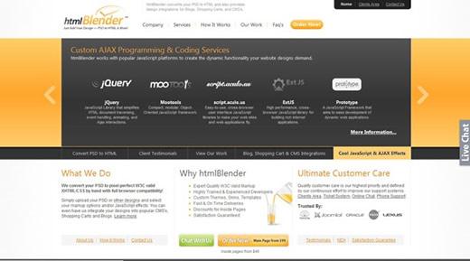 HTML Blender