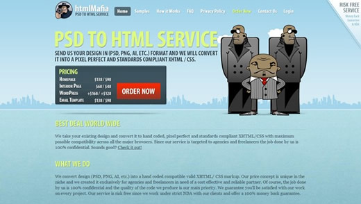 HTML mafia